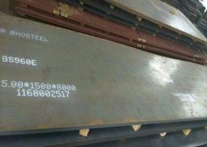 960 didelio stiprio plieno plokštė