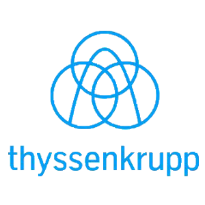 """Thyssenkrupp"" logotipas"