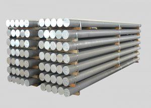1080,2A11,3003,4A11,5754,6082,7A05 lydinio aliuminio strypas