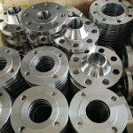 Lydinio aliuminio flanšas
