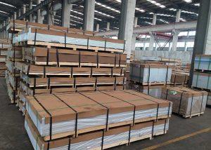 1050,3003,5052,5754,7075,8011 legiruoto aliuminio plokštė / lapas